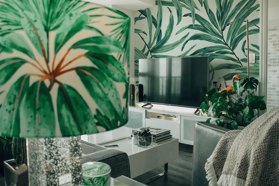 Maximalism interior design trends living room