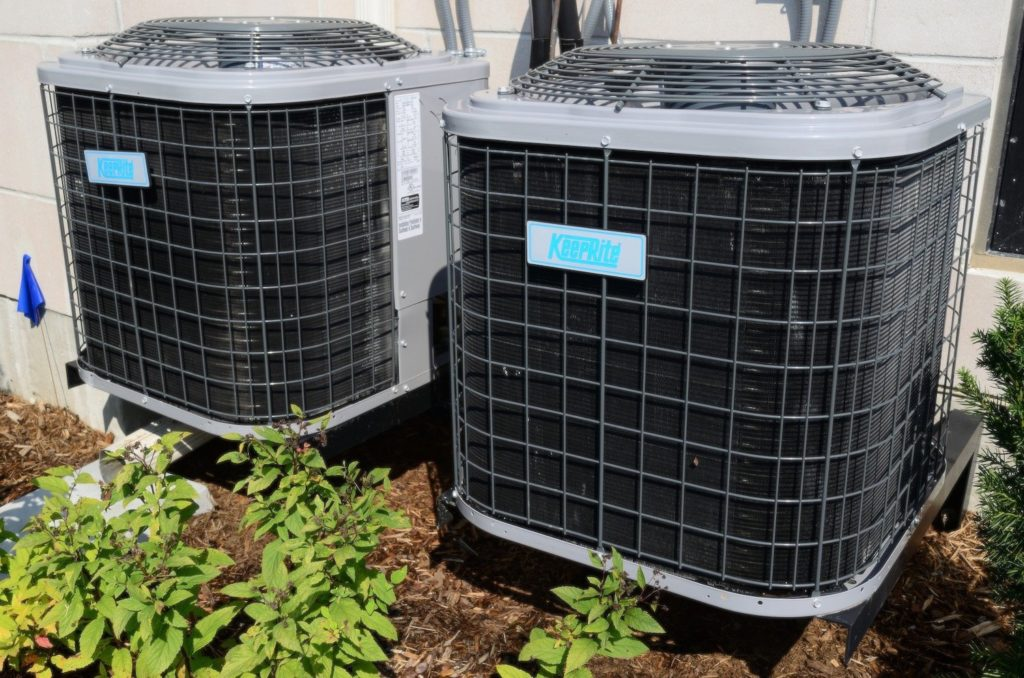 HVAC unit and other home maintenance projects