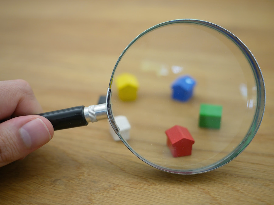 Houses with magnifying glass, and other questions to ask an agent